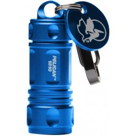 Peli 1810 sleutelhanger zaklamp blauw