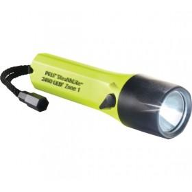 Peli 2460Z1 Stealthlite oplaadbare zaklamp geel