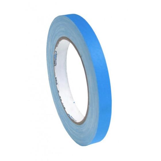 Pro-Gaff neon gaffa tape 12mm x 22,8m blauw