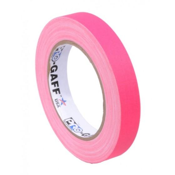 Pro-Gaff neon gaffa tape 19mm x 22,8m roze