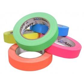 Pro-Gaff neon gaffa tape 24mm x 22,8m kleuren pakket