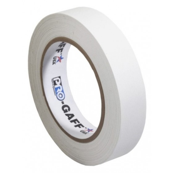 Pro-Gaff gaffa tape 24mm x 22,8m wit