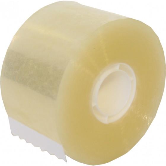 PP verpakkingstape 50mm. x 100 mtr. transparant