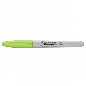 Sharpie permanent marker - fluoriserend Limoen groen - met dop