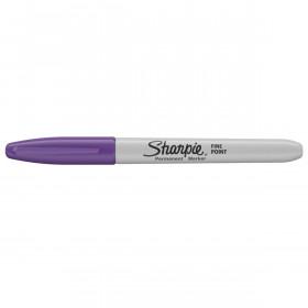 Sharpie permanent marker - fluoriserend Paars - met dop
