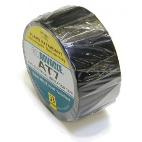 Advance AT-7 PVC tape 38mm. x 33m. Zwart