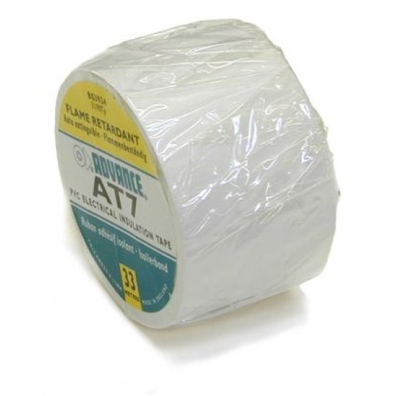 Advance AT-7 PVC tape 50mm. x 33m. Wit