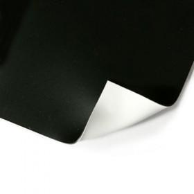 Two Stage dubbelzijdige vinyl dansvloer 1,5m x 15m zwart / wit