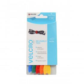 VELCRO® ONE-WRAP® klittenband kabelbinders - mix - 5 stuks