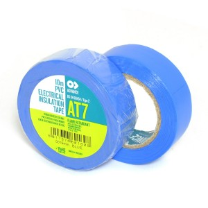 Advance AT7 PVC tape 19mm x 10m blauw