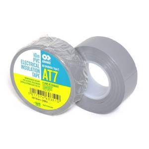 Advance AT-7 PVC tape 19mm x 10m grijs