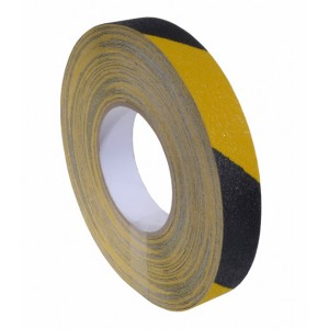 Antislip tape 25mm x 18,3m Geel / Zwart