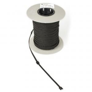 Klittenband kabelbinder 20mm x 150mm zwart, 1000 stuks