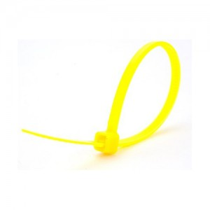 Kabelbinders 4,8 x 300 mm neon geel zak 100 stuks