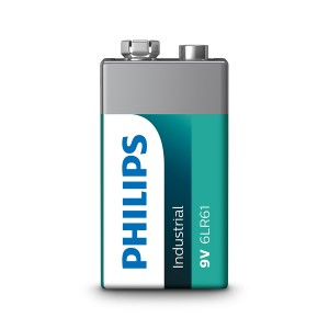 Philips Industrial 9V / 6LR61 batterij