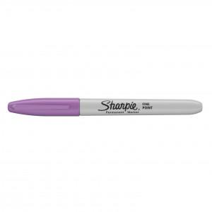 Sharpie permanent marker - fluoriserend Bosbes - met dop