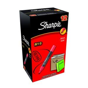 Sharpie permanent marker M15 rood verpakking