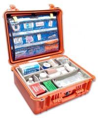 Peli Case 1550 Oranje EMS uitvoering open