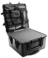Peli 1640 Case Zwart open