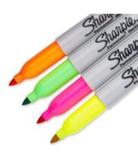 Sharpie permanent marker Neon 4 Kleurenset