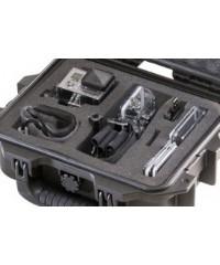 Peli Case 1200 GP1 voor 1 Go Pro camera open