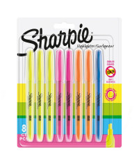 Sharpie Markeerstift Highlighter - set van 8 stuks - verpaking