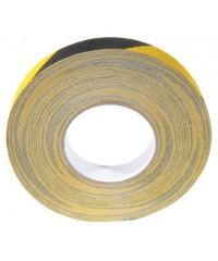 Antislip tape 25mm x 18,3m Geel / Zwart