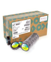 Advance AT7 PVC tape 15mm x 10m zwart - doos 100 rollen