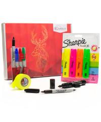 Sharpie + Pro Tapes Cadeaubox