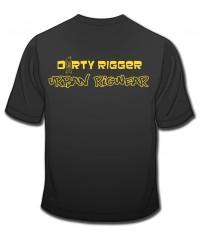 Dirty Rigger t-shirt Urban Rigwear voorkant