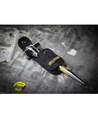 Dirty Rigger scaff-ratel holster in gebruik