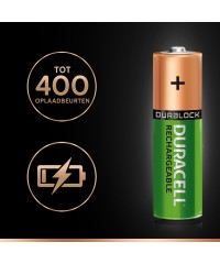 AA Duracell Recharge 2500 mAh