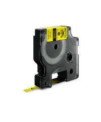 Dymo RHINO 18052 - IND Krimpkous label - 6mm zwart op geel - apparaat