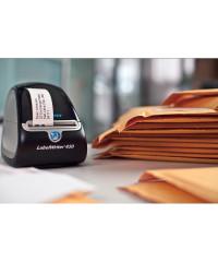 Dymo 2093093 - 89 x 36mm - wit papieren labels - 12 rollen - voorbeeld