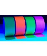 Neon gaffatape 50mm x 25m Geel