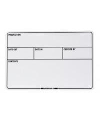 GafferGear Flightcase label 100 x 150