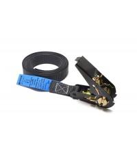 Gaffergear spanband 25mm x 10m zwart