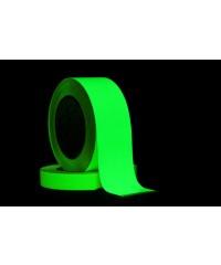 Photoluminescente (glow in the dark) tape 50mm x 10m