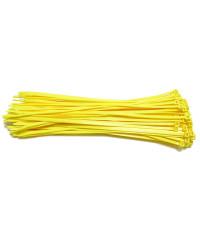 Kabelbinders 4,8 x 300 mm neon geel - zak 100 stuks