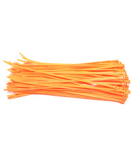 Kabelbinders 4,8 x 300 mm neon oranje - zak 100 stuks