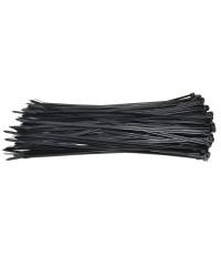 Kabelbinders 4,8 x 368 mm zwart - zak 100 stuks
