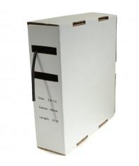 Krimpkous H-2 box 1.6 Ø / 0.8 Ø 10m zwart