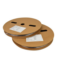 Krimpkous met lijm 3:1 - Ø 25.4 mm / 8.4 mm - 20 m transparant