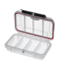 Gaffergear Case 01 transparant met 4 vaks vakverdeling