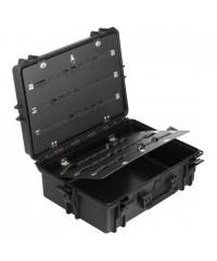 Gaffergear Case 050 zwart met gereedschap opbergset