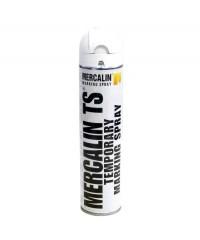 Mercalin TS tijdelijke markeringsverf - spuitbus 600ml wit