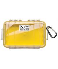 Peli Case 1040 Micro Geel/Transparant
