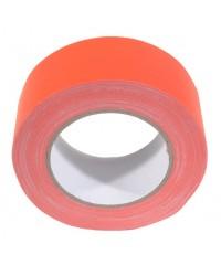 Neon gaffatape 50mm x 25m Oranje