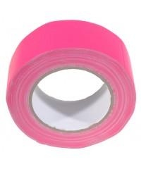 Neon gaffatape 50mm x 25m Roze
