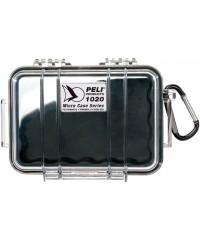 Peli Case 1020 Transparant / Zwart